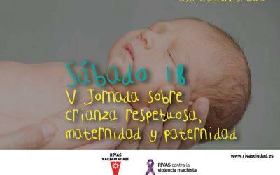 Inscripción a la 5ª jornada 'Crianza Respetuosa'