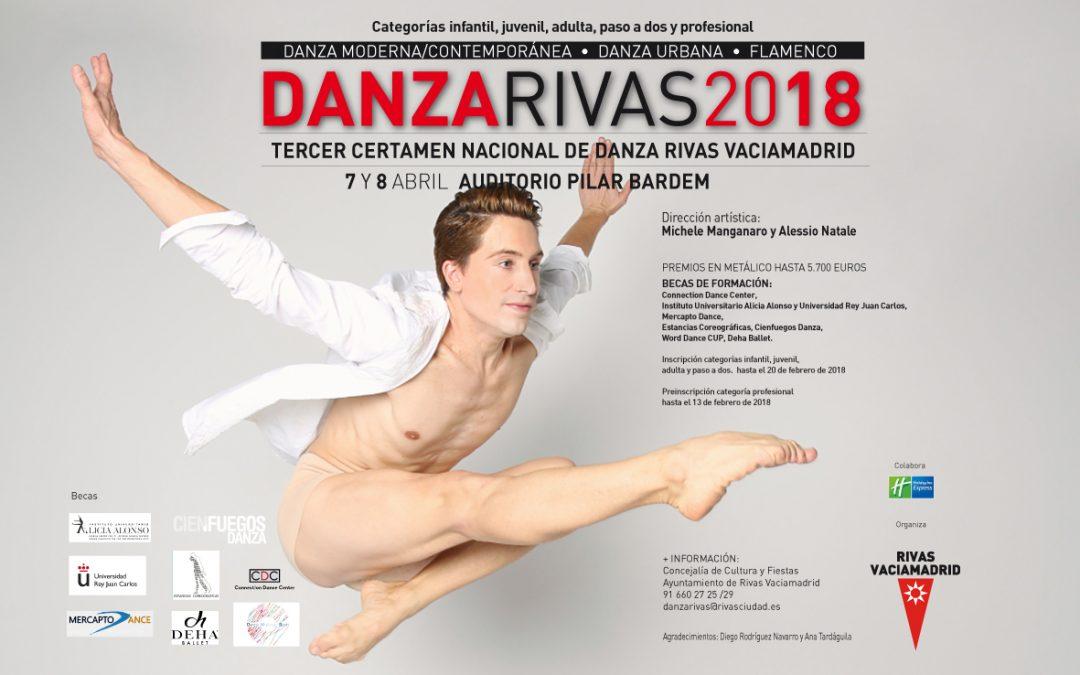 Inscripción a DanzaRivas 2018 – Categorias Infantil, Juvenil, Adulta y Paso a dos