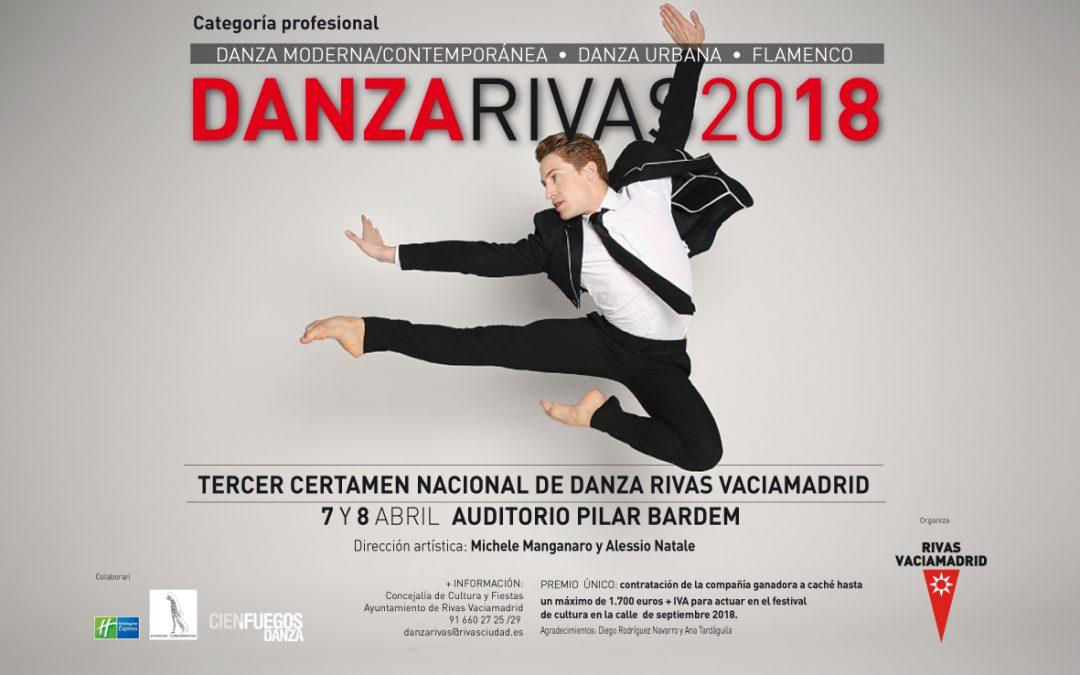 Preinscripción a Danzarivas 2018 – Categoría Profesional