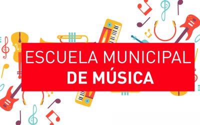 Preinscripción Escuela de Música – Instrumentos 2019