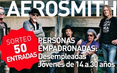 Sorteo de 50 entradas (dobles) concierto de Aerosmith.