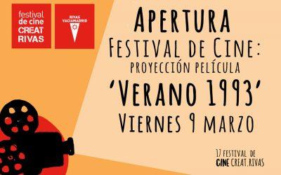 Inscripciones a Apertura Festival de Cine – Creatrivas 2018
