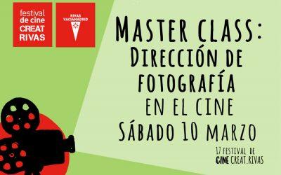 Inscripciones a Master Class de dirección de fotografía en el cine – Creatrivas 2018