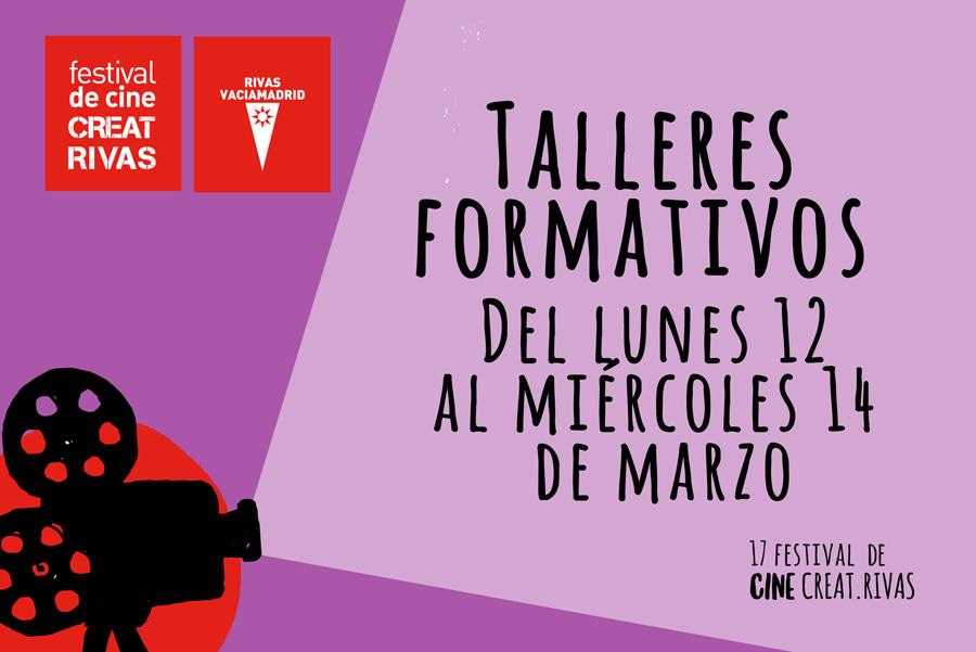 Inscripciones a Talleres Formativos -Creatrivas 2018
