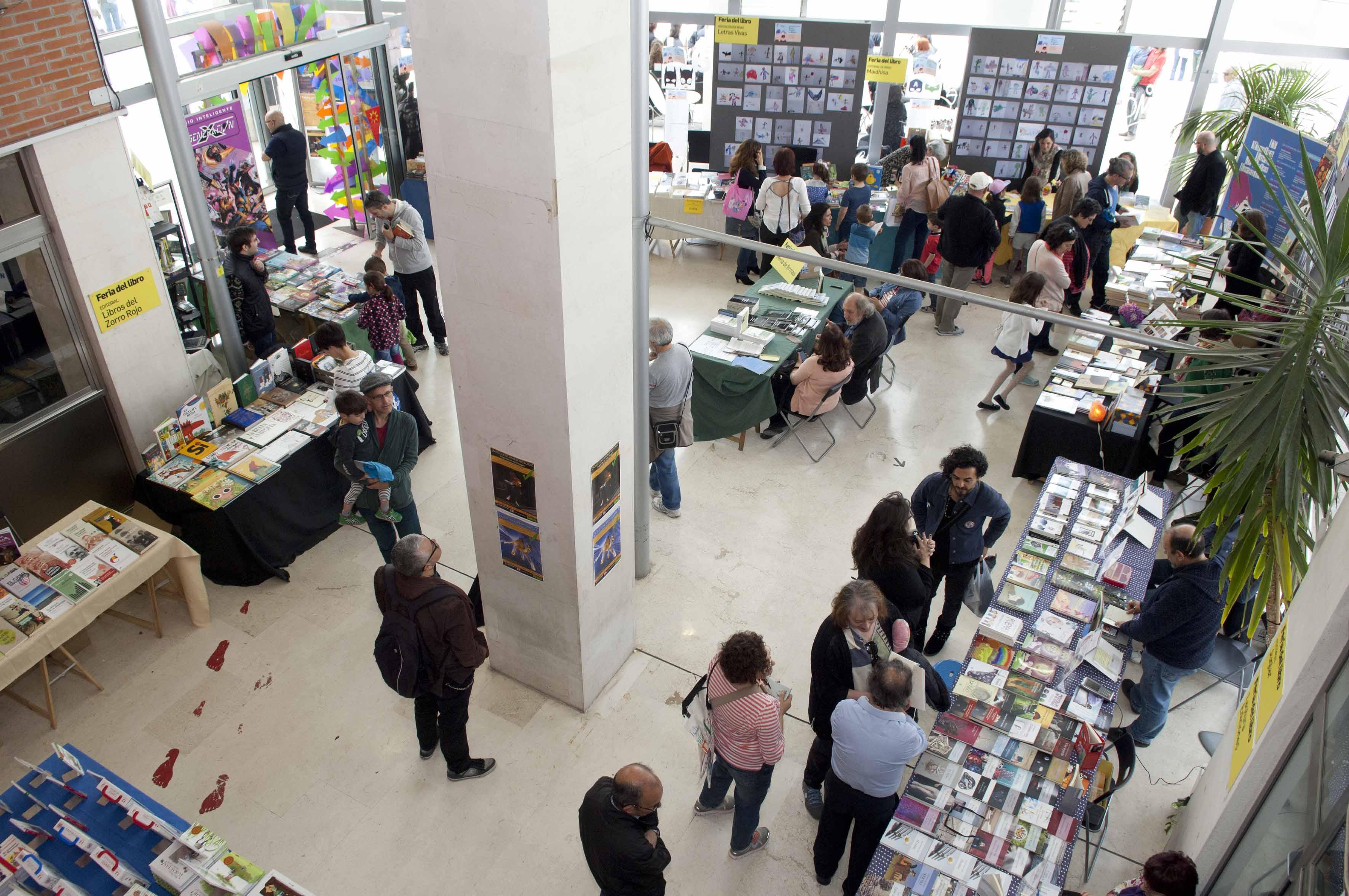 Inscripción Estand Feria del Libro