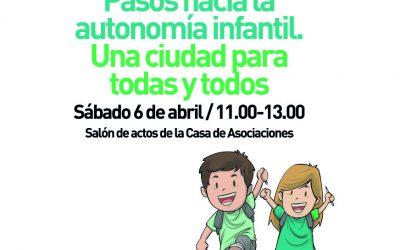 Inscripción charla-coloquio sobre autonomía infantil