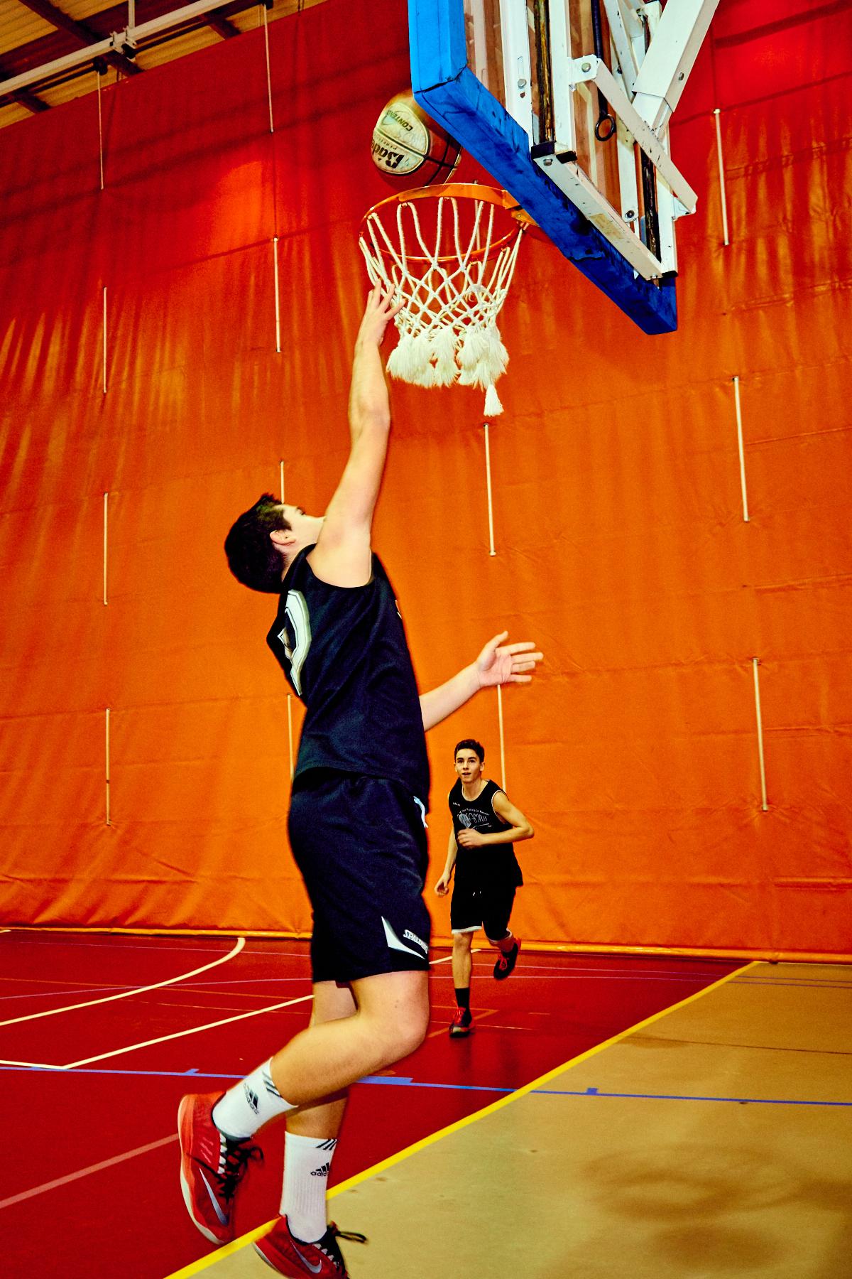 Inscripción a Liga de baloncesto adultos
