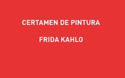 Inscripción Certamen de pintura Frida Kahlo