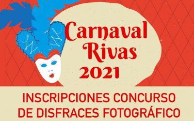 CONCURSO DE DISFRACES FOTOGRÁFICO CARNAVAL 2021 RIVAS VACIAMADRID