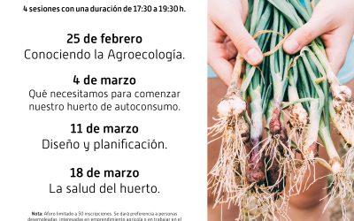 Inscripción a Curso Agricultura Urbana