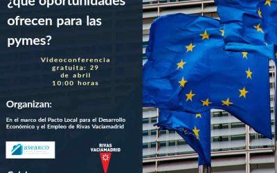 Inscripción Webinars Fondos Europeos