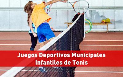 Clausura Juegos Deportivos Municipales Infantiles de Tenis