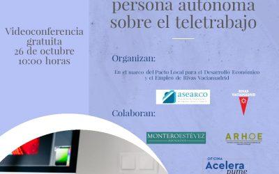 Inscripción Webinario sobre el Teletrabajo